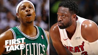Dwyane Wade obviously had a better career than Paul Pierce - Stephen A. | First Take