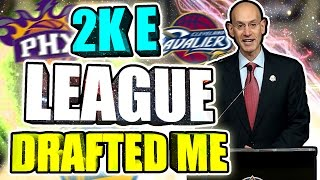 NBA 2k18 E-LEAGUE DRAFTED ME • I'M A PROFESSIONAL 2k PLAYER NOW • WHAT TEAM AM I PLAYING FOR? 😱