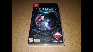 UNBOXING Biohazard Revelations Japones Nintendo Switch Resident Evil Revelations 1 ESPAÑOL