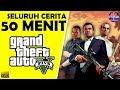 Seluruh Alur Cerita GTA 5 Hanya 50 MENIT Sejarah Kelam Masa Lalu Para Tokoh Di Grand Theft Auto V mp3