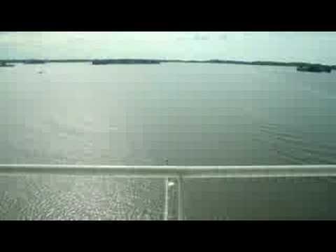 Time-lapse photo test - leaving Sompasaari harbour in Helsinki