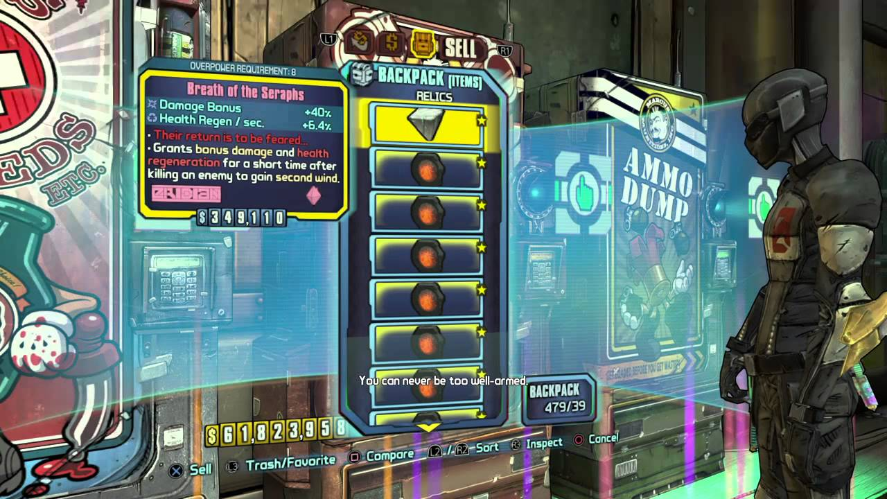 Borderlands 2 - Modded 500 Item & Backpack Giveaway - YouTube Borderlands 2 Max Backpack