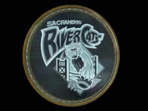 Sacramento Rivercats Spinning Coin Logo