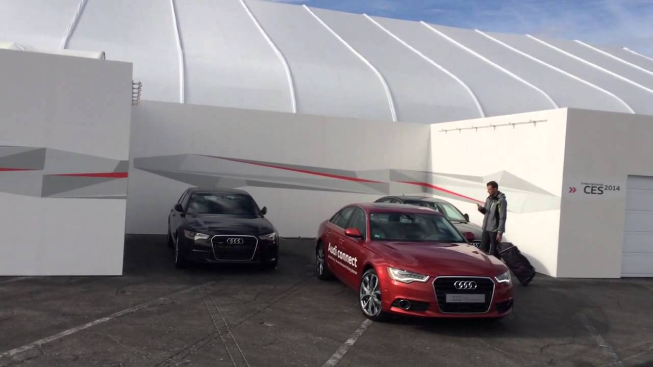 Audi Connect Self Parking Car YouTube - Audi self parking