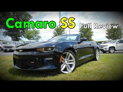 2017 Chevrolet Camaro Ss Full Review Coupe Convertible
