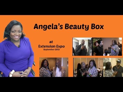 Angela's Beauty Box at Extensions Expo Part 2