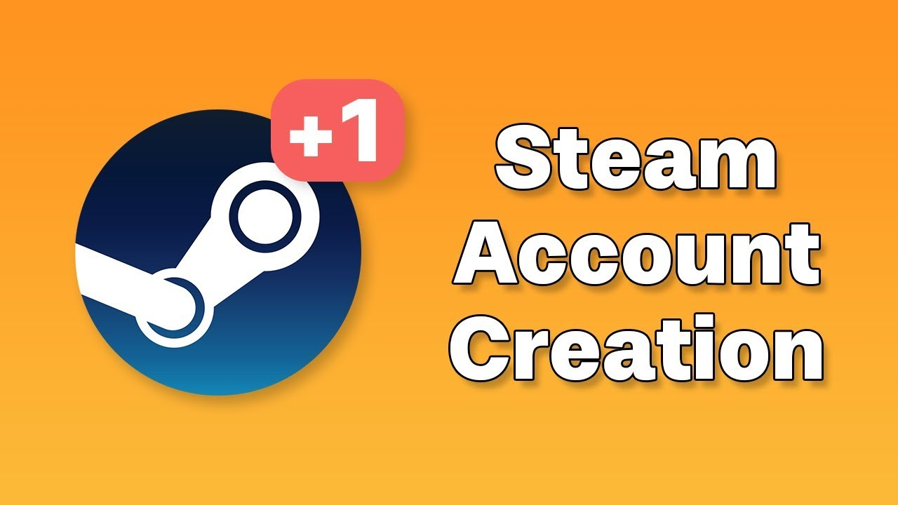 how to get a new steam account