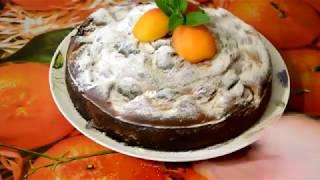 Абрикосовый пирог за 15 минут!