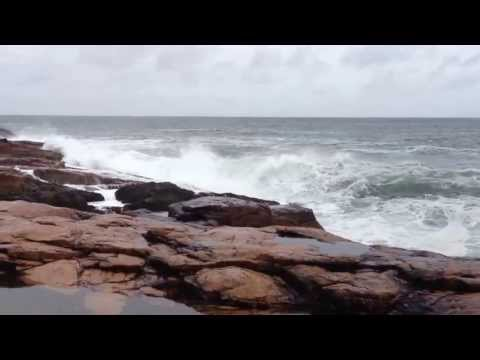 Storm waves in gloucester mass