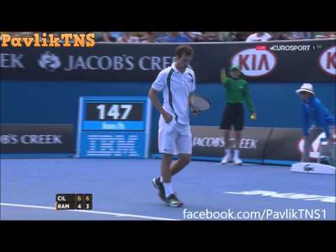 Marin Cilic vs Albert Ramos Vinolas Highlights ᴴᴰ Australian Open 2016