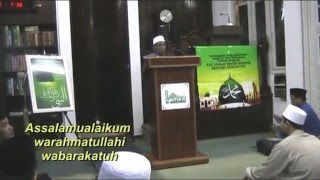 "Habib Ahmad Ismail : "" Keramat anak yang cintai Nabi SAW """