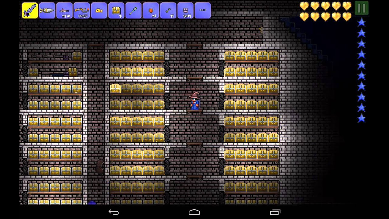 Terraria Android All Items Review