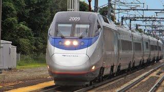 Пассажирские поезда в Америке