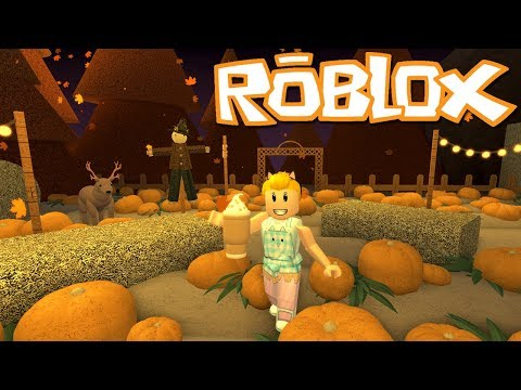 NEW GAME! Roblox Grotty's Pumpkin Patch ~ Pumpkin Latte