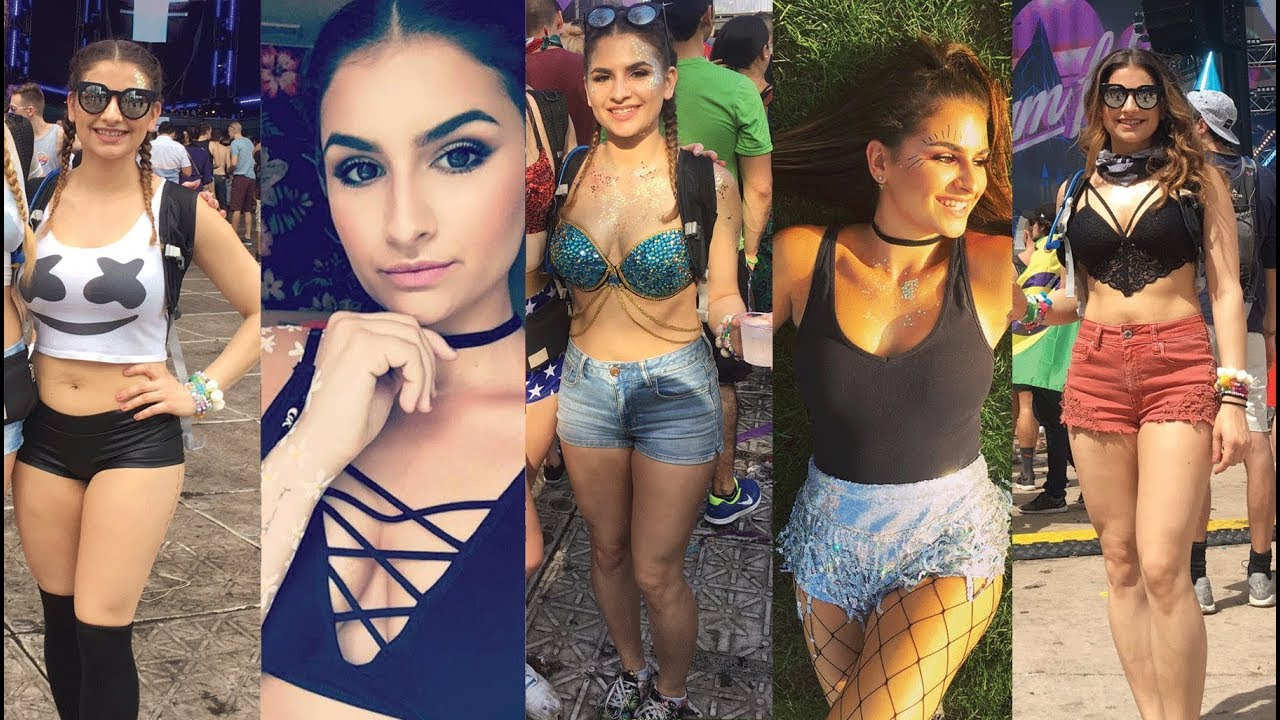 EDC LAS VEGAS OUTFIT IDEAS & TRY ON