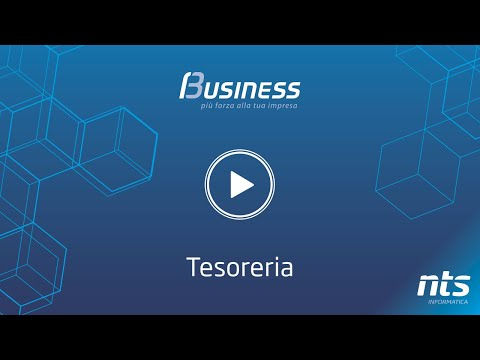 Business Cube - Tesoreria - NTS Informatica