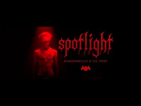 Marshmello x Lil Peep - Spotlight (Karaoke Version) Ⓜ️