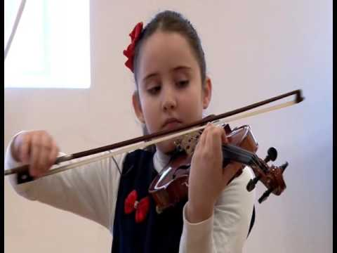 Elen Shahinans 8 years old , Mozart - Adelaide violin concert part 1