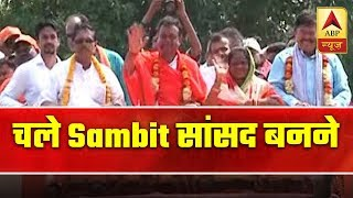 ABP News reports Sambit Patra's full day political campaign