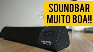 Avantree Torpedo Plus - A melhor caixa de som que já vi, MUITA QUALIDADE! [Unboxing e Impressões]