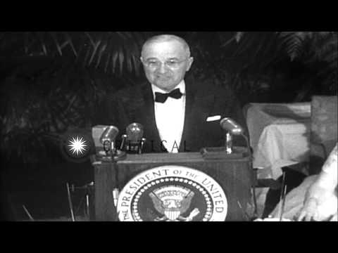 Republican Party candidates prepare for the Presidential elections of 1952 in Uni...HD Stock Footage