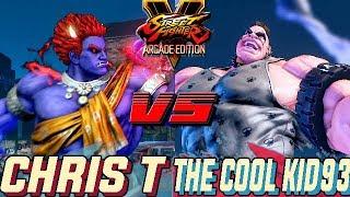 SFV AE 💥 Chris Tatarian (Kage) VS THE COOL KID93 (Abigail) Street Fighter V Arcade Edition Season 4