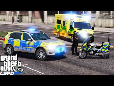 GTA 5 LSPDFR Police Mod 336|British Policing Script Live Steam|London Met & Armed Response Officers