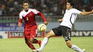 FULL MATCH: Nepal vs Afghanistan, Semi Final 1  - SAFF Championship 2013