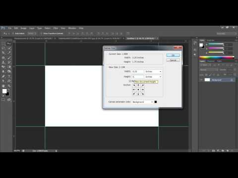 Business Card Size In Adobe Photoshop