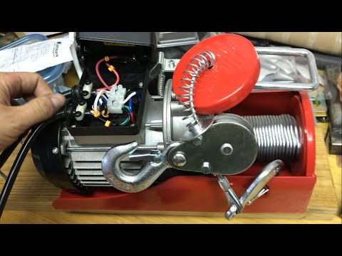How to extend lengthen electric hoist remote control (Harbor Freight)