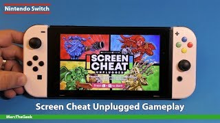 Nintendo Switch: Screen Cheat Unplugged Gameplay