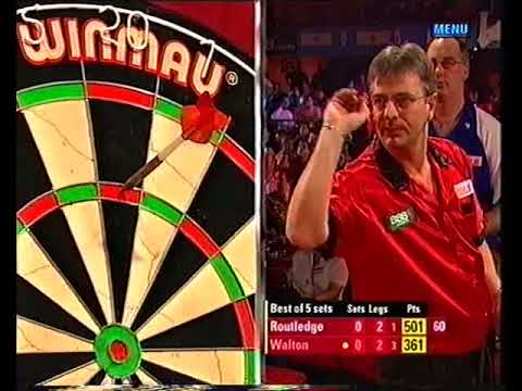 Walton vs Routledge Darts World Championship 2005 Round 1