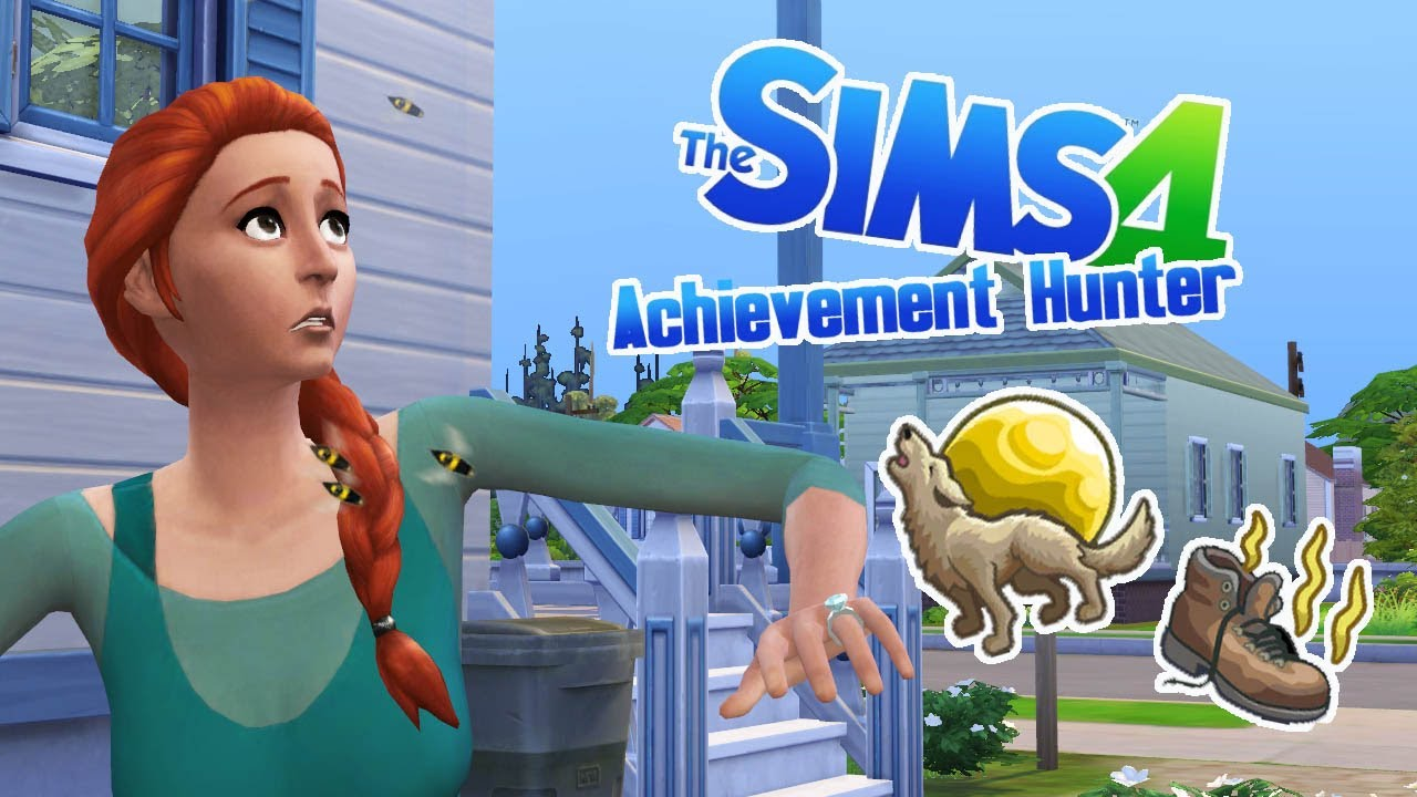 COLLECTION CORRECTION - 77 - Achievement Hunter (Sims 4)