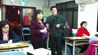 林玉蕊週三歌唱班-20120208【再會安平】-能坤和淑櫻