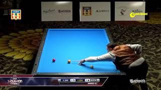 #2b Khalil DIAB vs Ahmet OZAN / 2018 USBA Three-Cushion Billiard National Championship