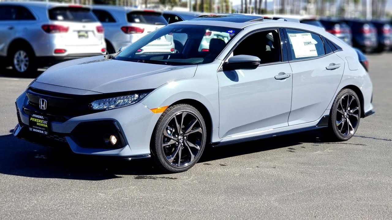 2019 Civic Sport Touring Hatch First Look Youtube