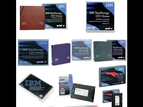 IBM Lto 6 , 5, 4, 3 Data Cartridge & Imation Ultrium Tapes In Egypt!