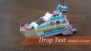 Drop Test - Lego Friends Dolphin Cruiser Set #41015