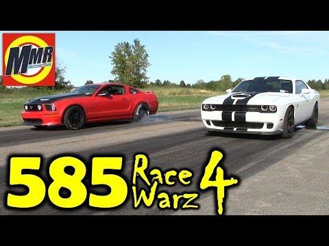 NO PREP STREET RACING at an Airport | 585 Race Warz 4