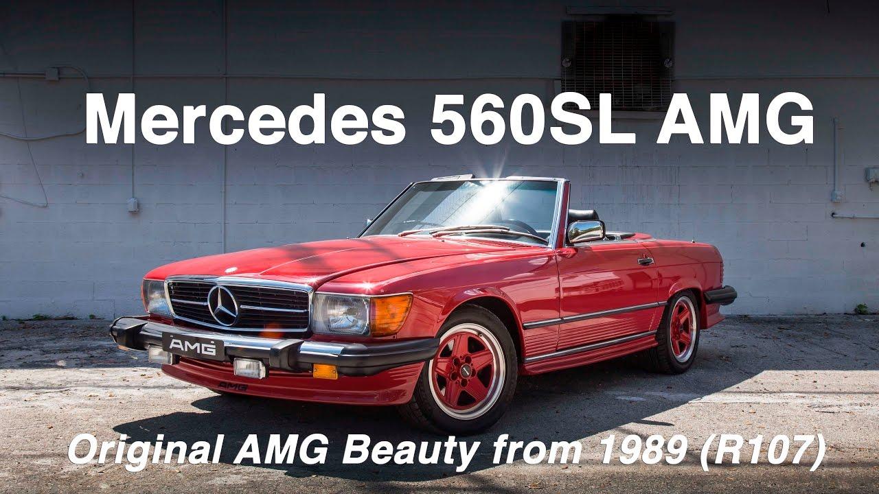 Mercedes Benz 560sl Amg An Original Beauty From 1989