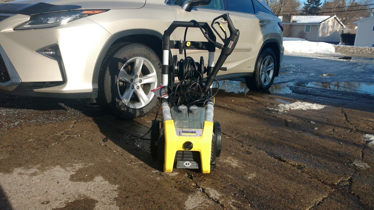Karcher 1900psi 1 3gpm Electric Pressure Washer Review and Demo from Costco