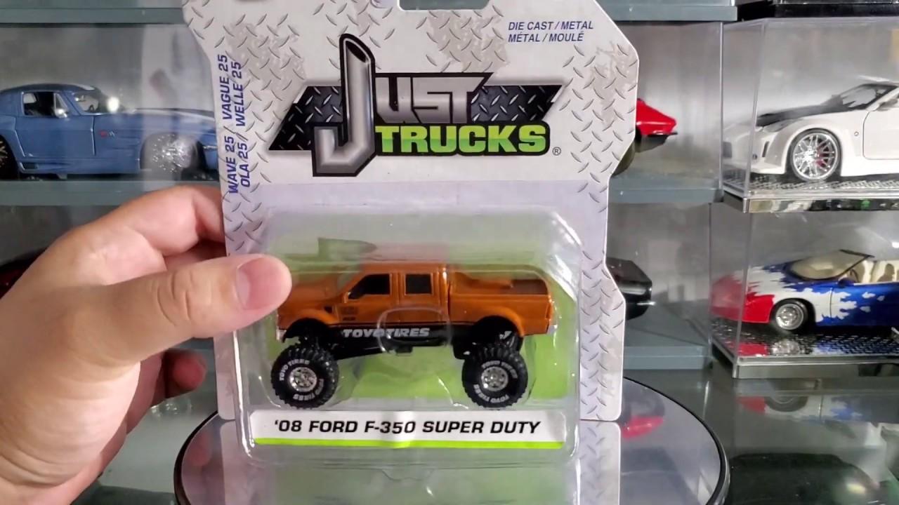 JADA Just Trucks 2019 Wave 24 08 Ford F350 Super Duty 1:64