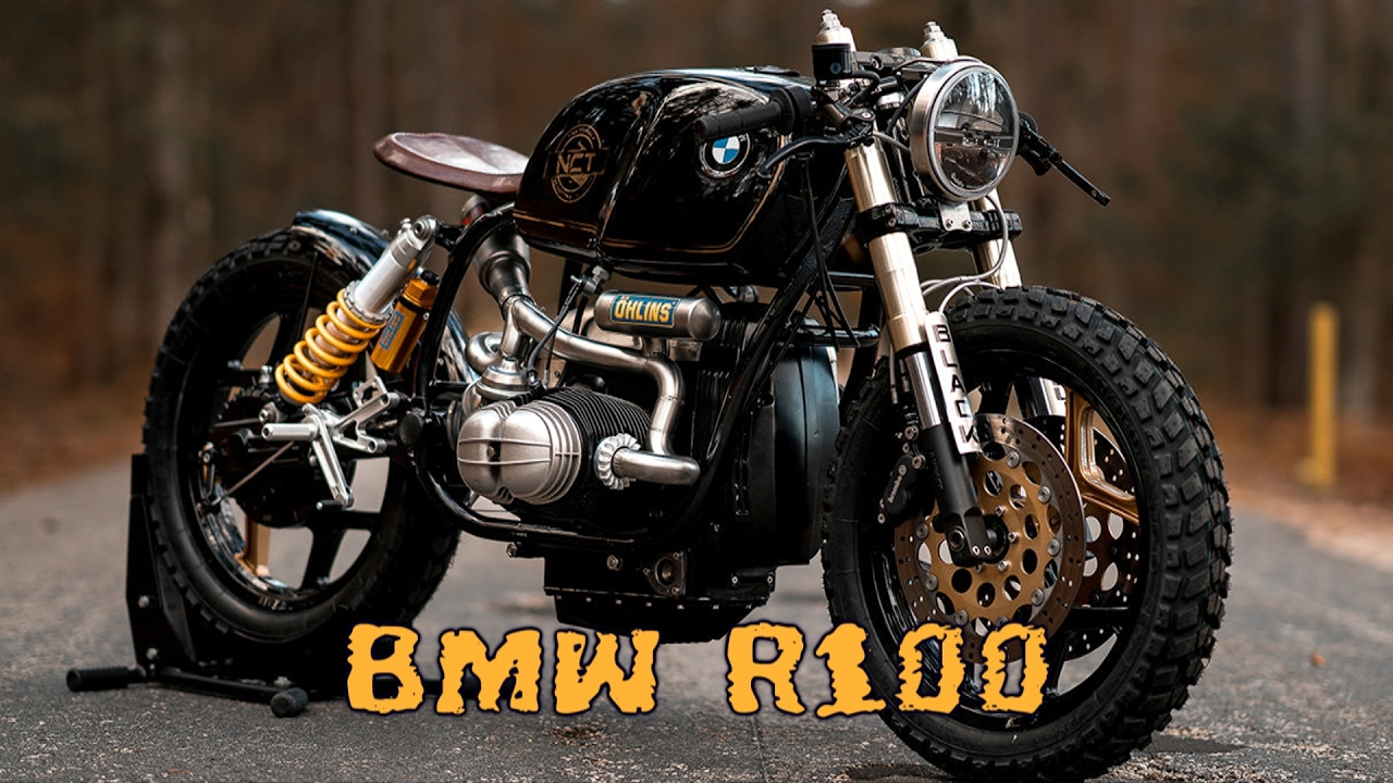 Amato BMW R100 cafe racer - YouTube AU96