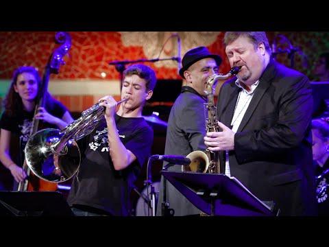 Wave SANT ANDREU JAZZ BAND -MAX SALGADO trompa- JOEL FRAHM saxo tenor JOAN CHAMORRO direccion