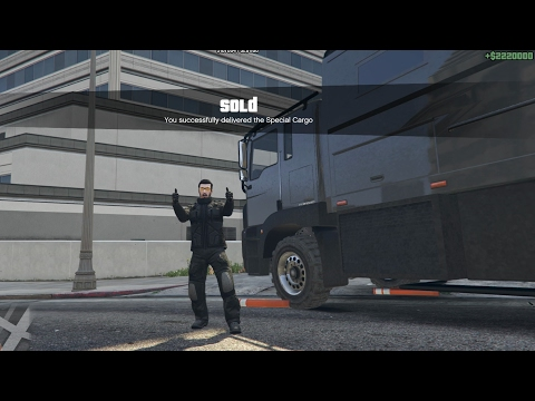 Ep121 Large 111 Crate Warehouse Sell Solo Delivery! - Let's Play GTA 5 Online PC 1080p HD