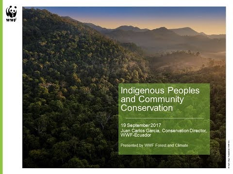 Learning Session 53: Indigenous Peoples & Community Conservation