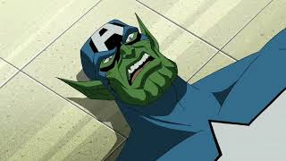 Captain America vs Skrull Captain America