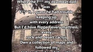 Repeat youtube video Eminem - Headlights ft.Nate Ruess Lyrics (Clean)