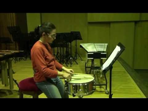 Mitchell Peters - Intermediate Snare Drum Studies - Study no. 21
