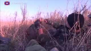 Засада от Оплченцев в Исполнении Гиви! Ополченцы Донбасса розбили колону !